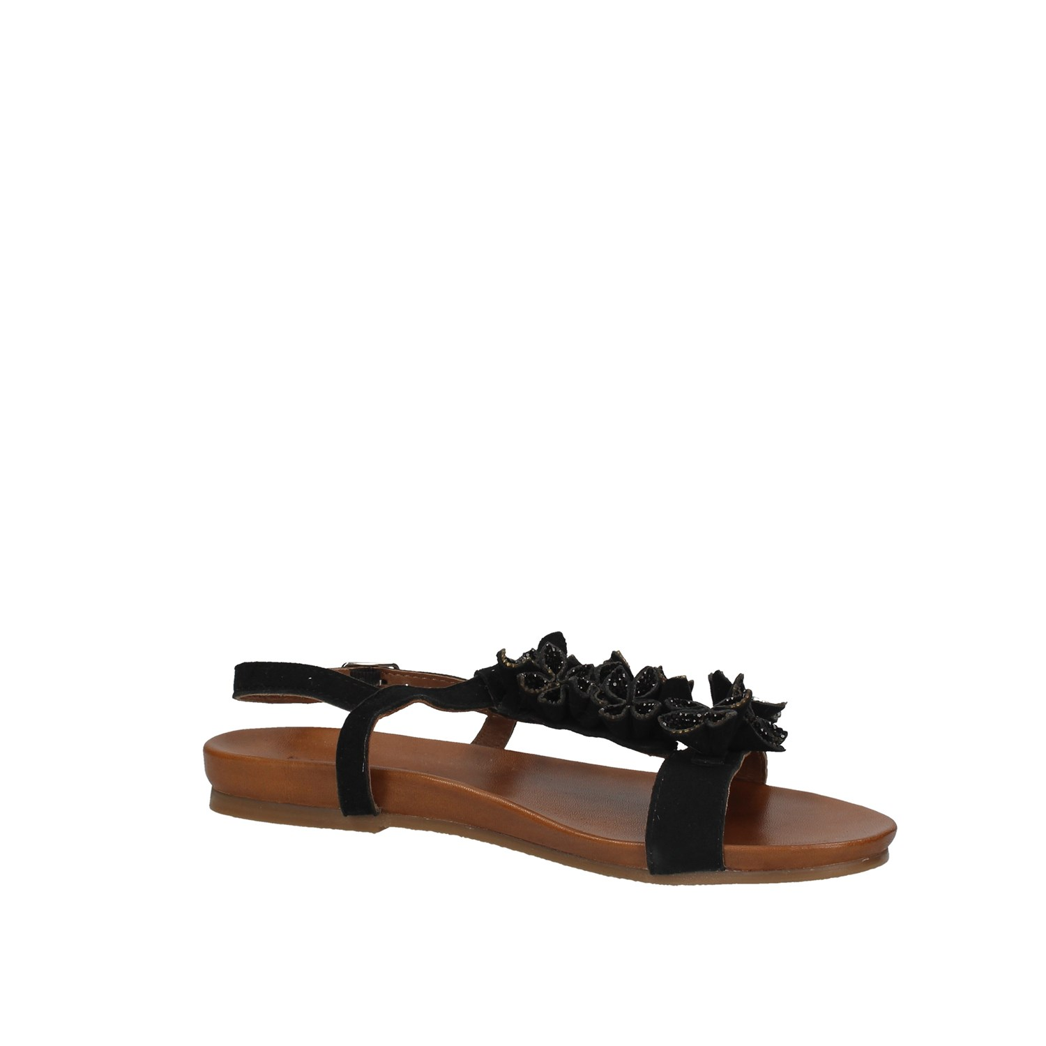 Inuovo 8593 Black Shoes Woman