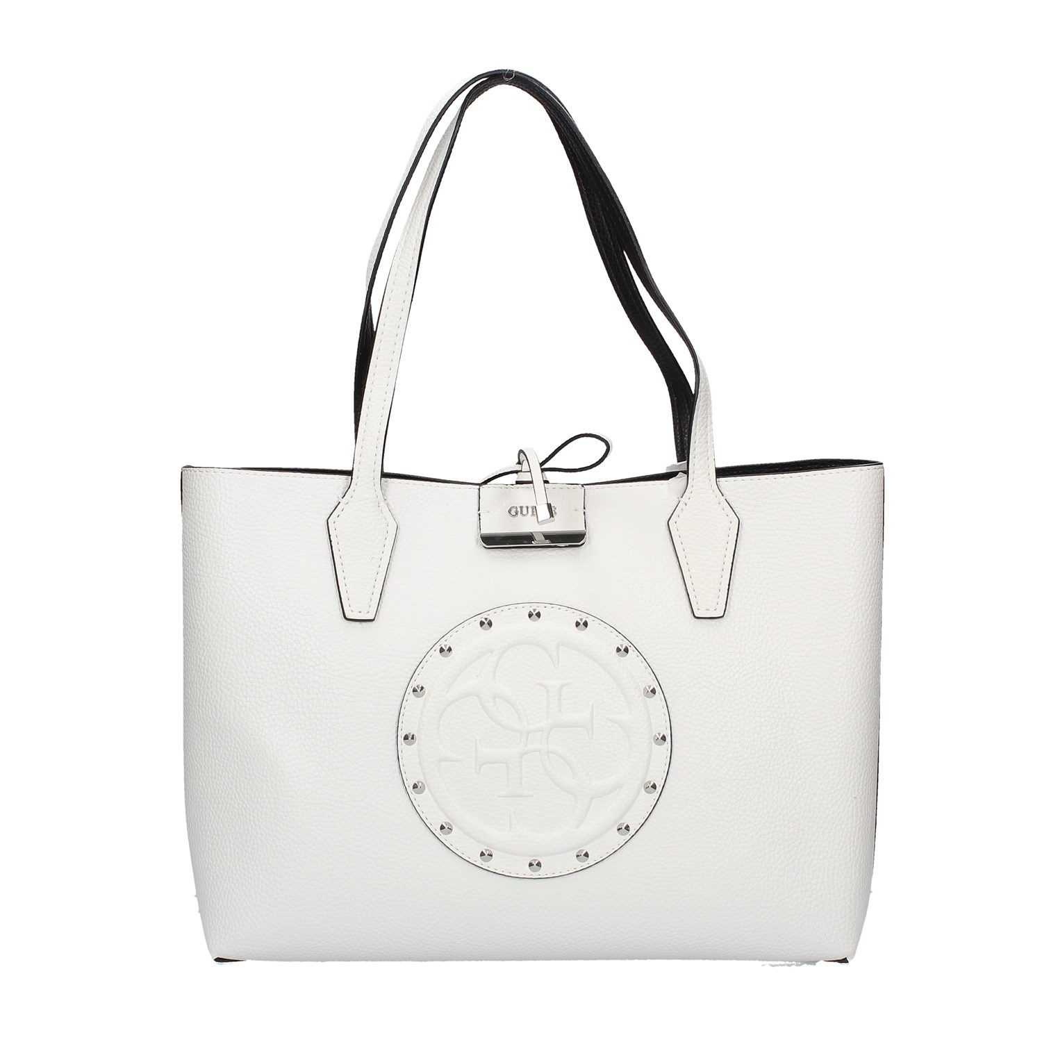 0be233d0f61 Guess Shopping Bag White | Shopping Bag Women | Stage Accessories
