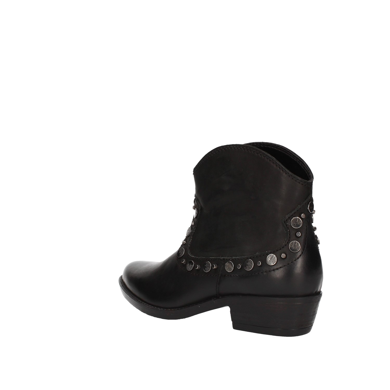 Inuovo Mars Black Shoes Woman