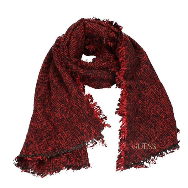 Guess Scarves Red