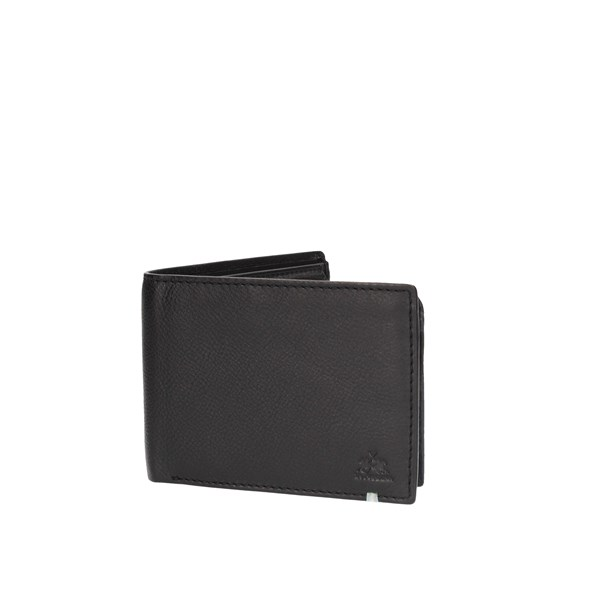 La Martina Wallet Black