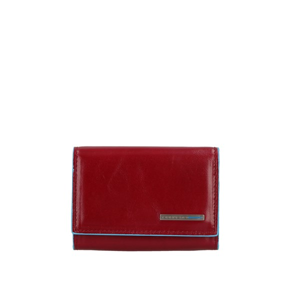 Piquadro Wallets Card Holder Pp4522b2 Red