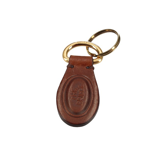 The Bridge Keychain Brown