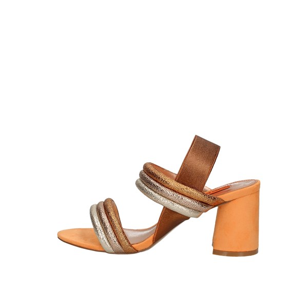 Luciano Barachini With heel Orange