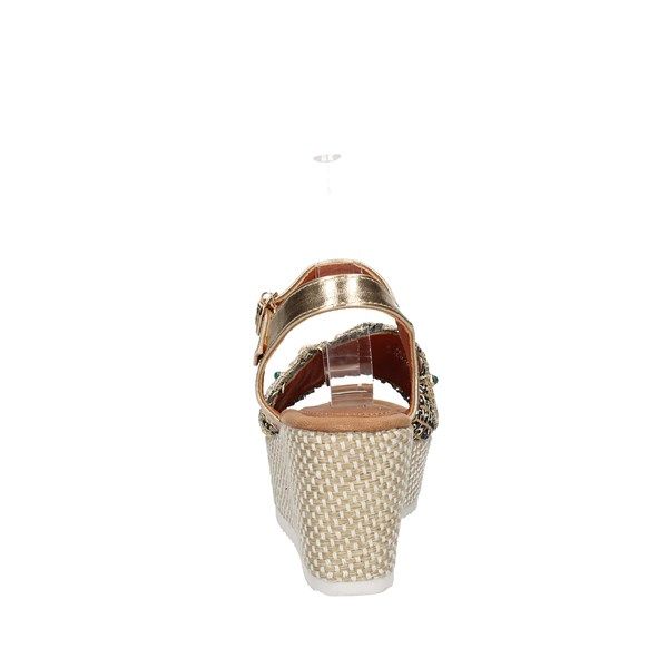 Baci & Abbracci Sandals  With wedge Woman C60039-56a 2