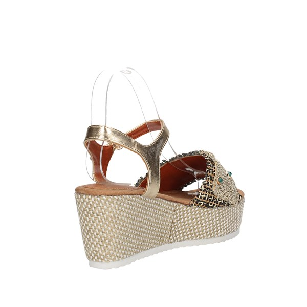 Baci & Abbracci Sandals  With wedge Woman C60039-56a 3