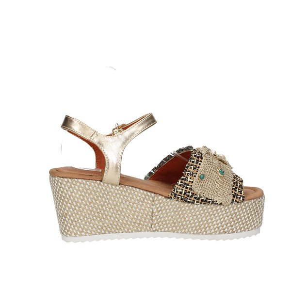 Baci & Abbracci Sandals  With wedge Woman C60039-56a 4