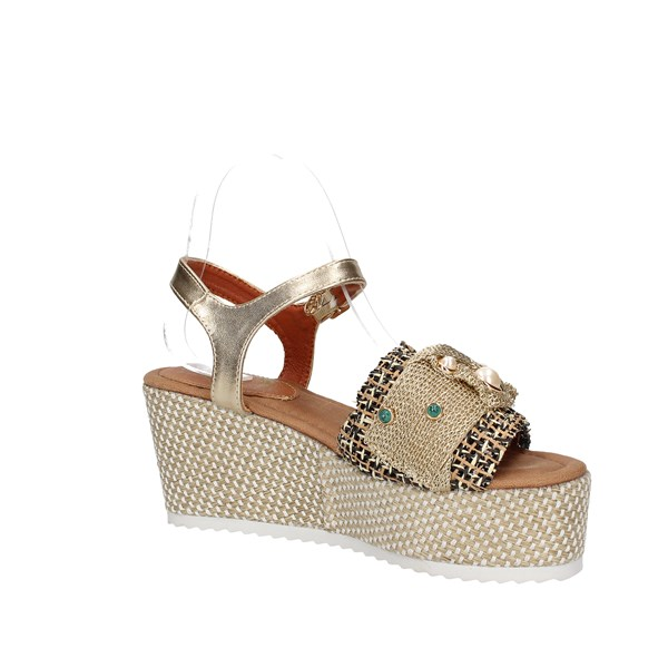 Baci & Abbracci Sandals  With wedge Woman C60039-56a 5
