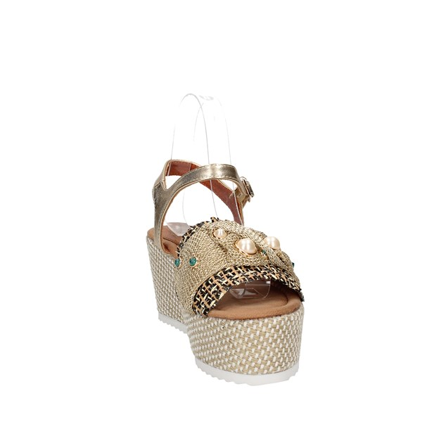 Baci & Abbracci Sandals  With wedge Woman C60039-56a 6
