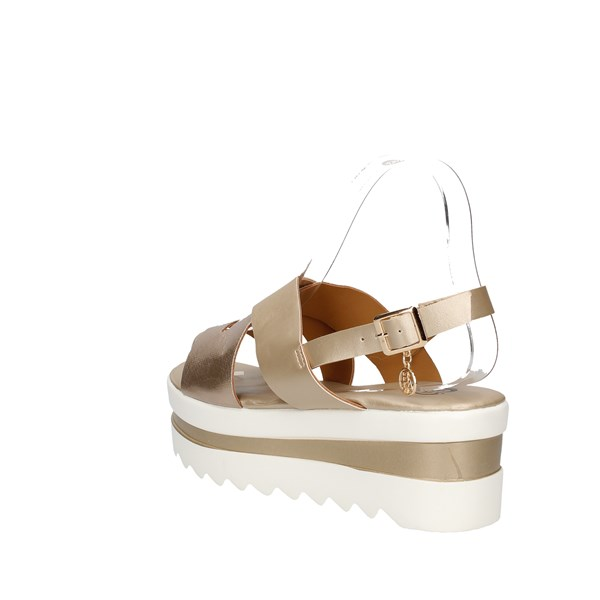 Baci & Abbracci Sandals Gold