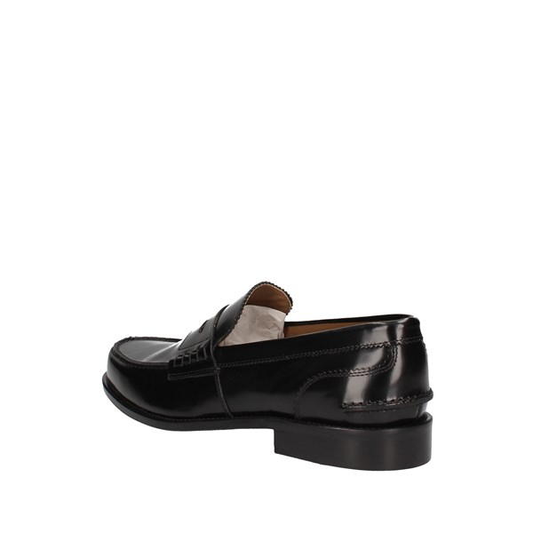 L'homme National Mocassino Black