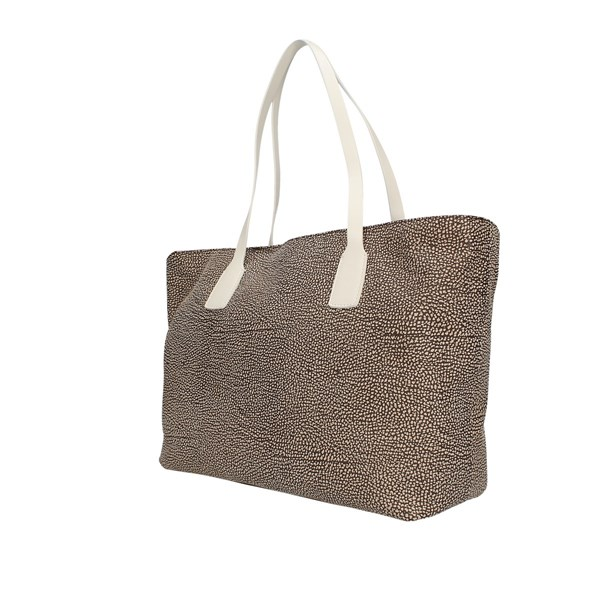 Borbonese Shopping Bag Op Nat./ghiaccio