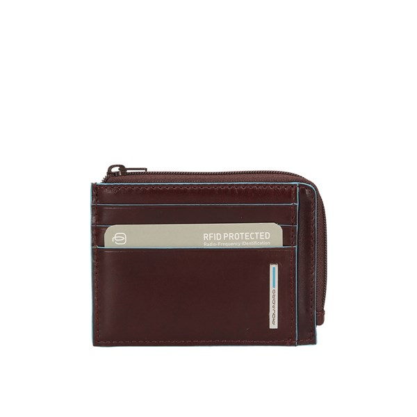Piquadro Wallets Card Holder Pp4822b2r Mahogany