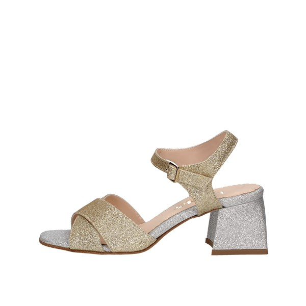 Le Mer Heeled Shoes Check 465/p12 Platinum