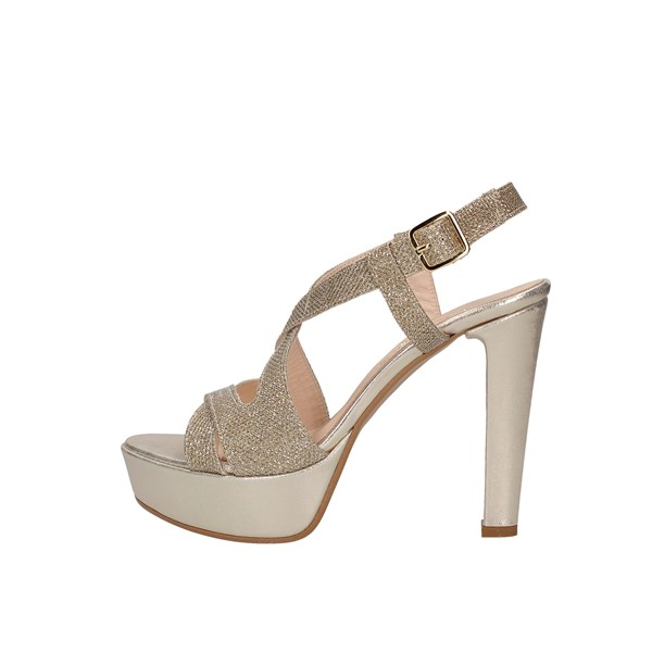 Le Mer Heeled Shoes Check 474 Platinum