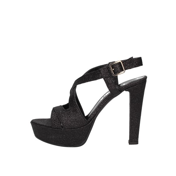 Le Mer Heeled Shoes Check Woman 474 0