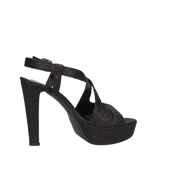 Le Mer Heeled Shoes Check Woman 474 4