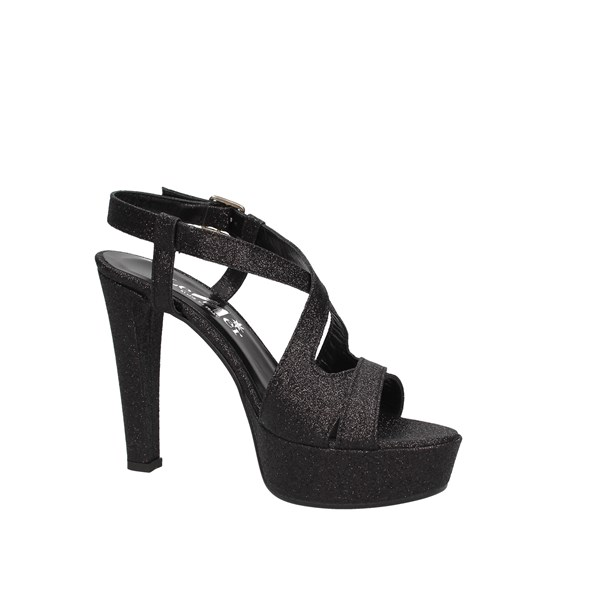 Le Mer Heeled Shoes Check Woman 474 5