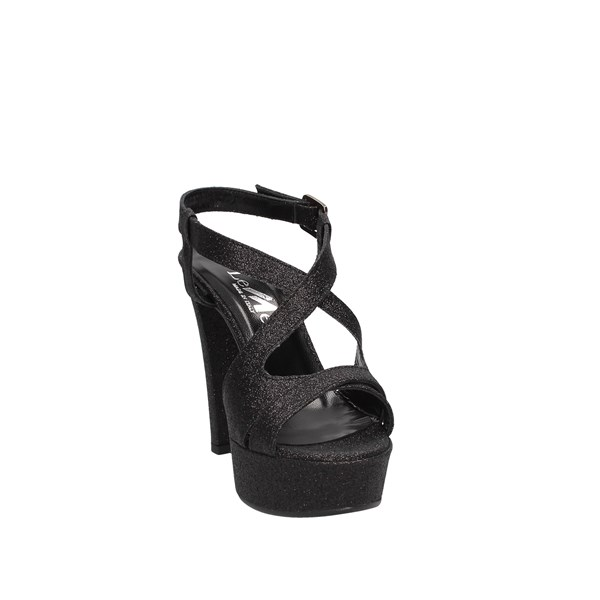 Le Mer Heeled Shoes Check Woman 474 6