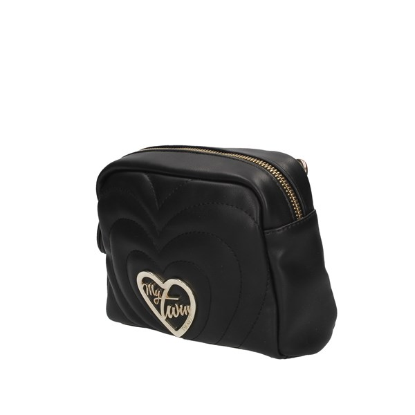 Mytwin By Twin Set Shoulder Bags Black