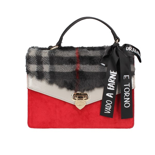 Le Pandorine Hand Bags Red