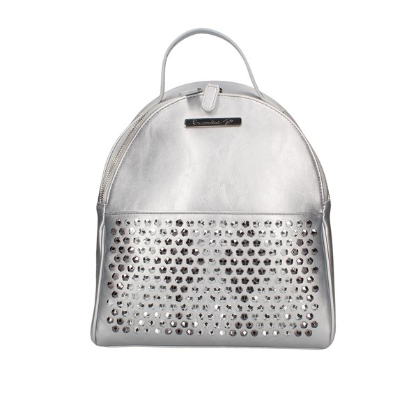 Braccialini Backpacks Silver