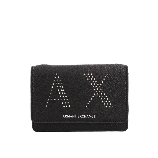 Armani Exchange Hand Bags Black