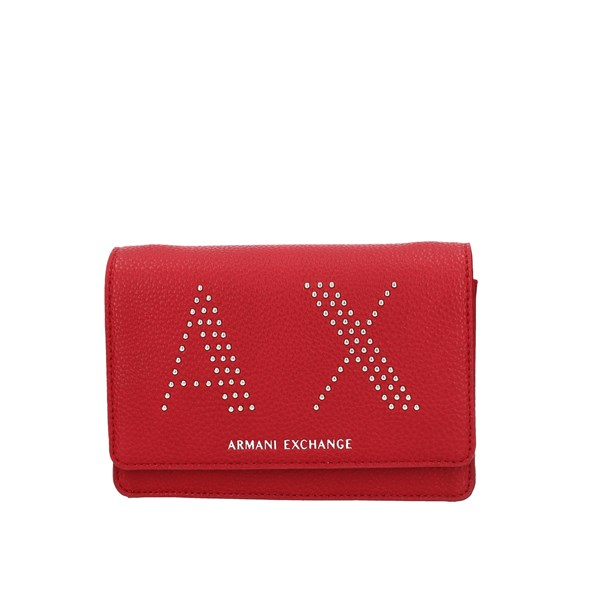 Armani Exchange Hand Bags Red
