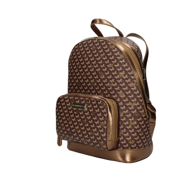 Twinset Backpacks Gold