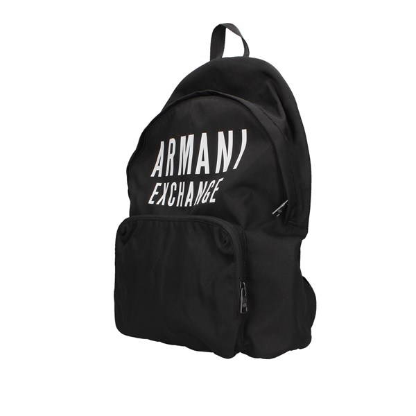 Armani Exchange Backpacks Black