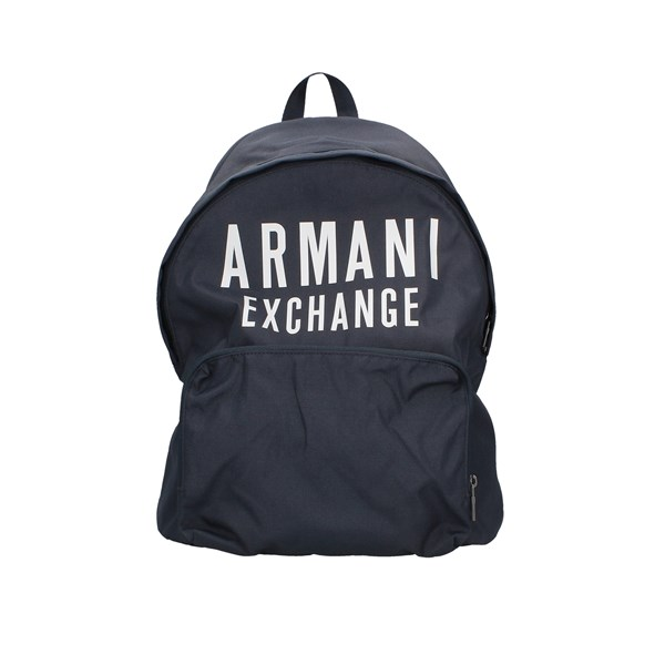 Armani Exchange Backpacks Blue