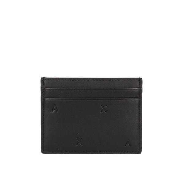 Armani Exchange Card Holder Black
