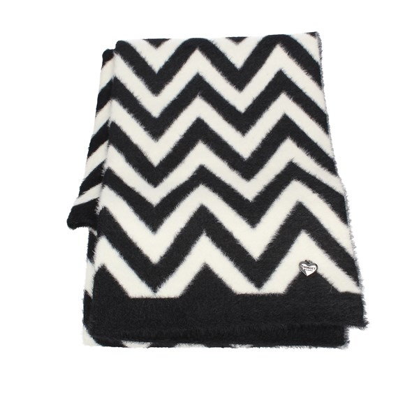 Twinset Scarves White black