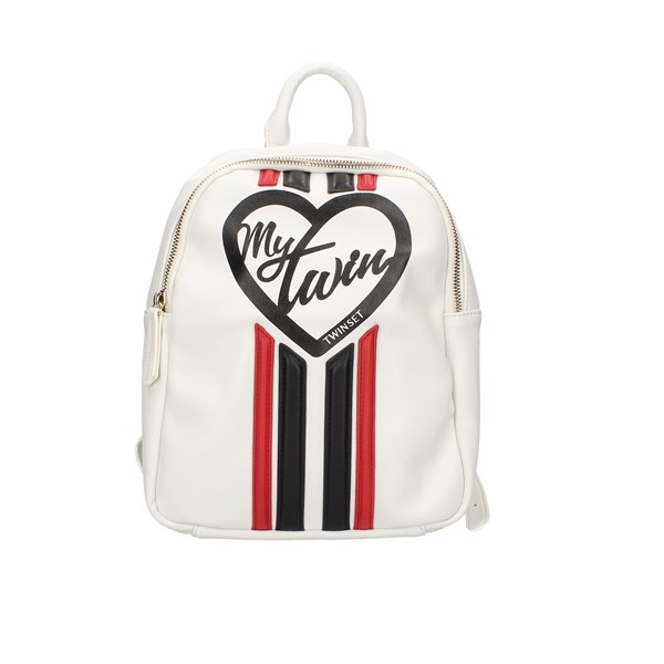 Mytwin By Twin Set Backpacks Beige / Red