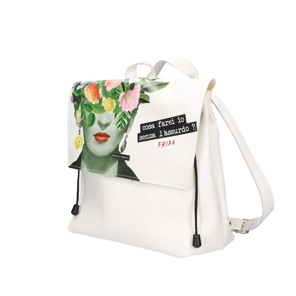 Alviero Rodriguez Backpack White Frida