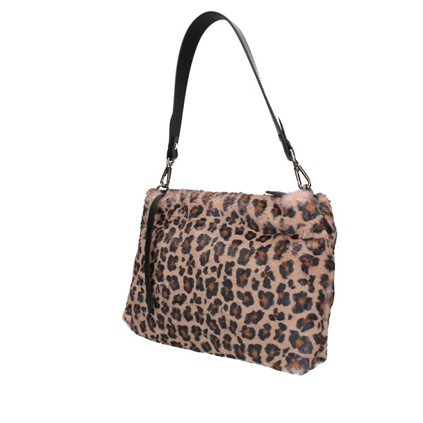 Loristella Shoulder bag Rose / leopard