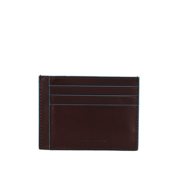 Piquadro Card Holder Mahogany