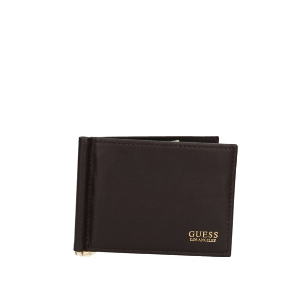 Guess Pocket credit card holder  Brown
