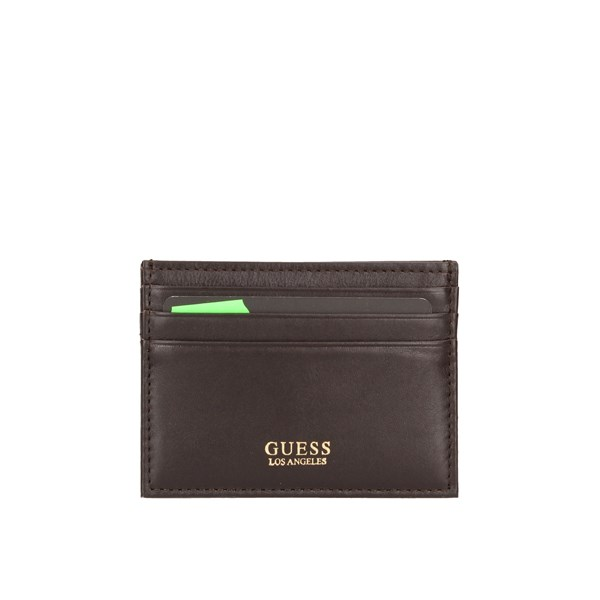 Guess Card Holder Brown