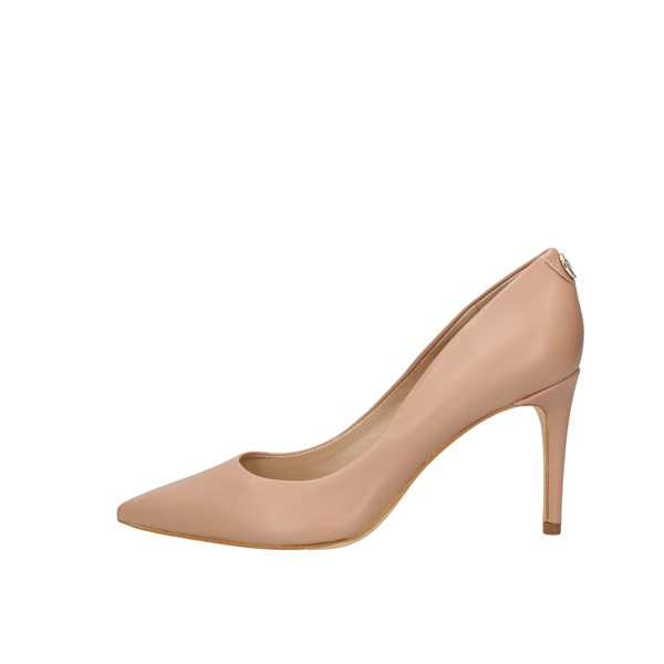 Guess Heeled Shoes decolletè Fl5be5lea08 Nude