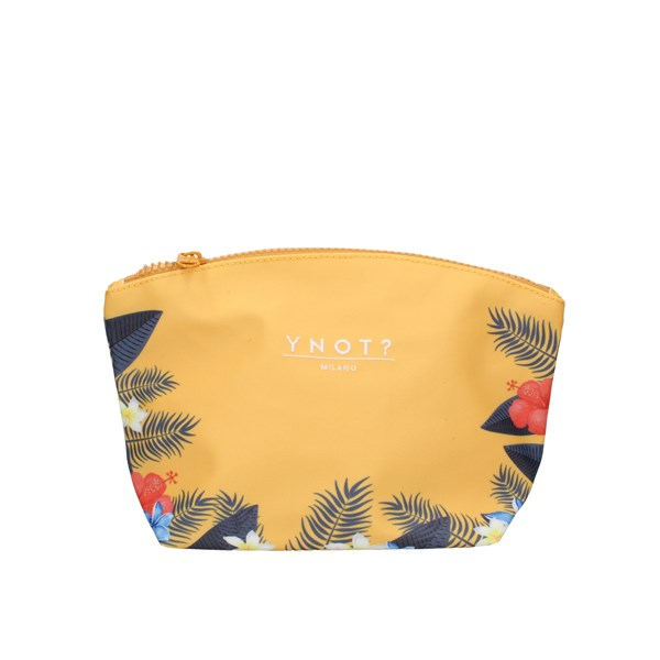 Ynot? Beauty bags yellow