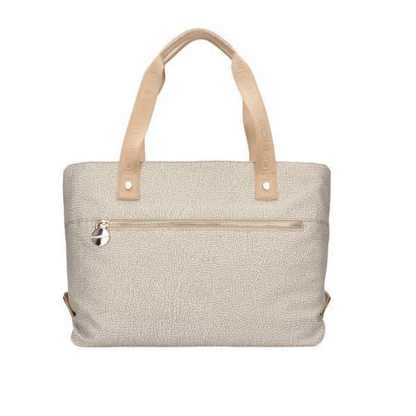Borbonese Shopping bags Beige