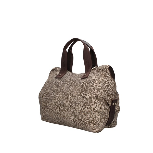 Borbonese Hand Bags Op Nat./brown