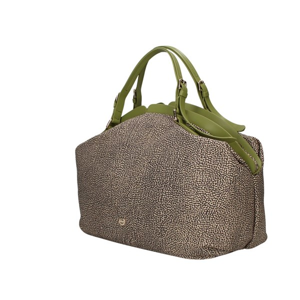 Borbonese shoulder bags Military green