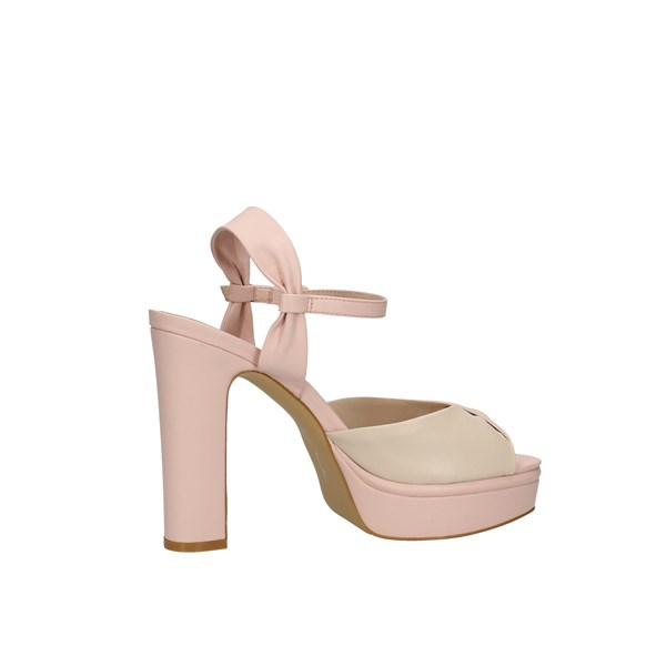 Oggi By Luciano Barachini Heeled Shoes With Plateau Woman Ee173n 4
