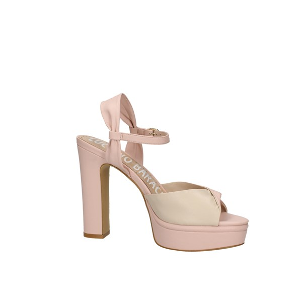 Oggi By Luciano Barachini Heeled Shoes With Plateau Woman Ee173n 5