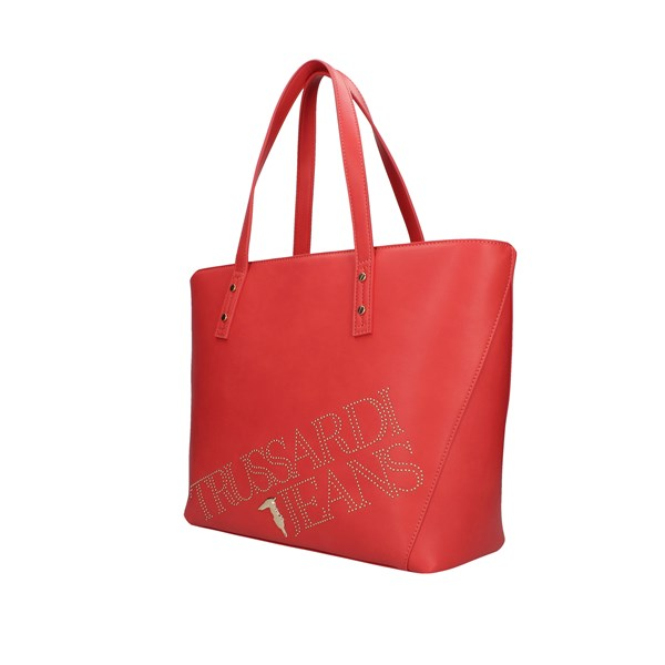 Trussardi Jeans Shopping bags Coral
