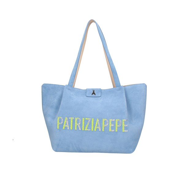 Patrizia Pepe Shopping bags Light blue
