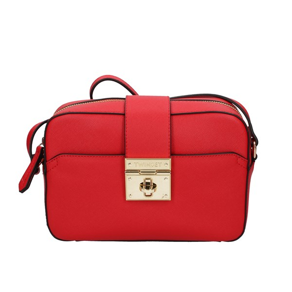 Twinset Shoulder Bags Red