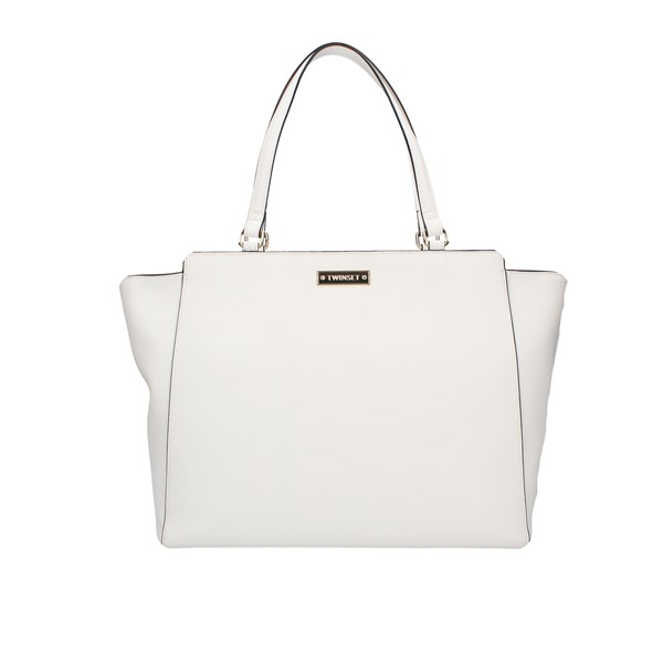 Twinset Shopping bags Optical white
